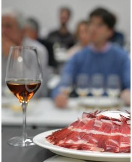 Jamón Cinco Jotas y Vinos de Jerez